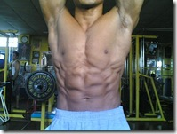 abs and abdominal pose